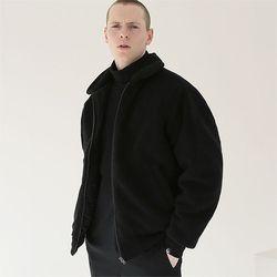 헤비 히트 양털자켓 자켓 블랙