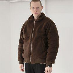 헤비 히트 양털자켓 자켓 브라운