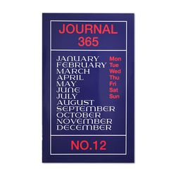Journal365 No.12 Mini-Blue