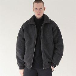 헤비 히트 양털자켓 자켓 다크그레이