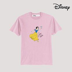 디즈니 백설공주 반팔 티셔츠 핑크