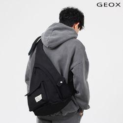 [GEOX] HUG SLINGBAG BLACK 허그백 블랙