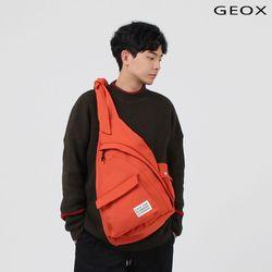 [GEOX] HUG SLINGBAG DARKORANGE 허그백 다크오렌지