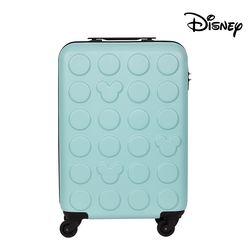 디즈니 미키 블럭 하드 캐리어 블루 20인치 (기내용)