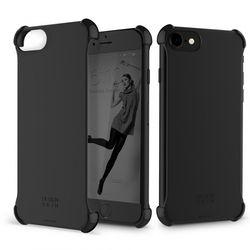 [무료배송] 디자인스킨 아이폰87 케이스 코너 케이스 매트블랙