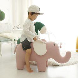 [아티슈슈]대형 코끼리 인형 스툴