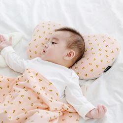 코니테일 아기 짱구베개 - 핑크체리(유아 신생아베개)