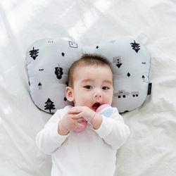 코니테일 아기 짱구베개 - 포레스트(유아 신생아베개)