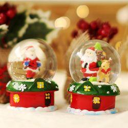 크리스마스 스윗홈 워터볼 스노우볼 6.5cm (산타)