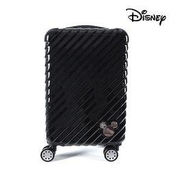 디즈니 미키 오블리크 확장 캐리어 블랙 20인치 (기내용)