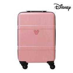 디즈니 미키 듀얼라인 확장 캐리어 핑크 20인치 (기내용)