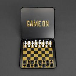 [럭키스] 여행용 미니 자석 체스 세트
