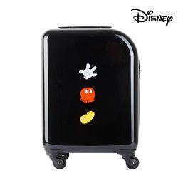 [무료배송] 디즈니 미키 심볼 PC+ABS  캐리어 블랙 19인치 (기내용)