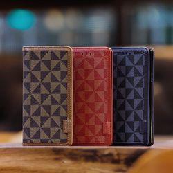 LG G6 (LG G600) Senti 체크 지갑 다이어리 케이스