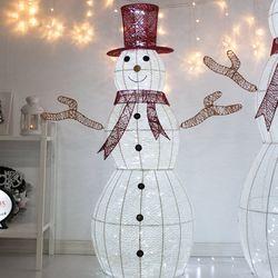 LED니켈눈사람 120cm 크리스마스