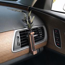 바미르 차량용 송풍구 원목케이스 디퓨저 (유칼립투스)