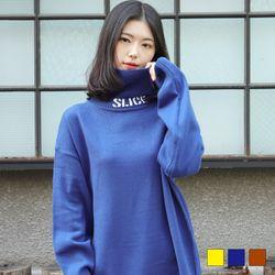 2359 SLICE 니트 폴라 티셔츠 (3colors)