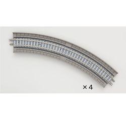[1873] 고가 곡선 PC 트랙 HC243-45-PC (F) (N게이지)