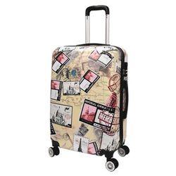 쌈지 A2-1339 우표무늬 20인치 캐리어 여행가방