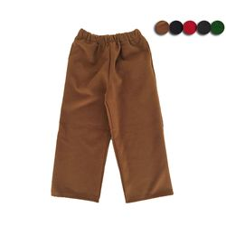 MELTON WOOL OVER WIDE PANTS(5COLOR)남성용