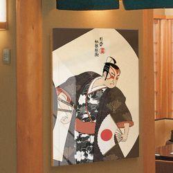 ii163-아크릴액자일본전통2-무사(대형)