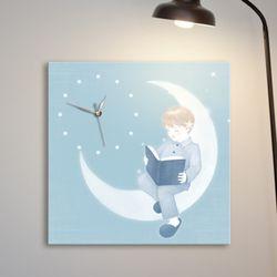 ct290-파스텔소녀감성노프레임벽시계