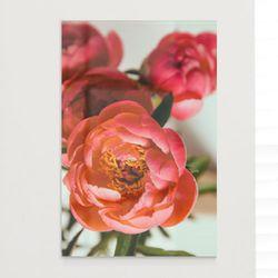 ii149-아크릴액자복을부르는모란꽃(대형)