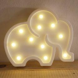 LED 앵두전구 조명등 (코끼리 화이트)