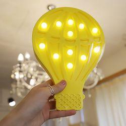 LED 앵두전구 조명등 (열기구 옐로우)
