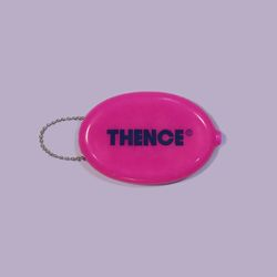 LOGO COIN POUCH PINK