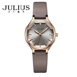 쥴리어스스타 JS008 여성 패션 가죽밴드 손목시계