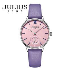 쥴리어스스타 JS010 여성 패션 가죽밴드 손목시계