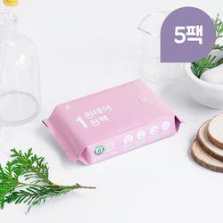 원데이원팩 유기농 생리대 대형 5팩(25P)