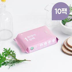 원데이원팩 유기농 생리대 대형 10팩(50P)