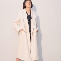 Double Wool Coat Ivory