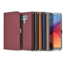 LG G6/G6+ 락플립 소가죽 다이어리 케이스