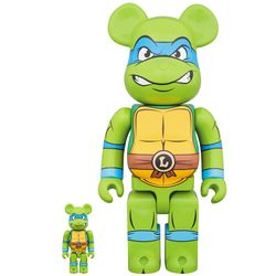 BEARBRICK Leonardo 100 & 400 set