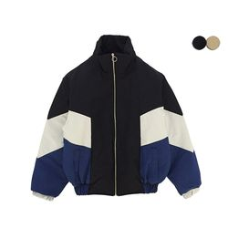 COLOR BLOCK PADDING PUFFER(2COLOR)UNISEX