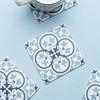 핀타 블루 코스터 방수 컵받침 10x10