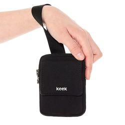 keek 손목지갑 포켓파우치 (Black)