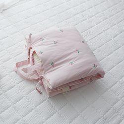 솜사탕 핑크체리 낮잠패드
