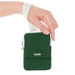 keek 손목지갑 포켓파우치 (Green)