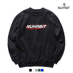뉴해빗 - BIG RED LINE - 8F-7059 - 나염맨투맨