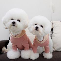 [A.마카롱기모후드올인원]macaron hood AIO Pink