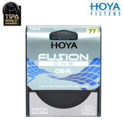 HOYA FUSION ONE CPL 77mm 발수/방유 반사방지코팅 /K