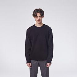 Basic round knit (Black)