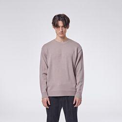 Basic round knit (Pink)