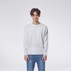 Basic round knit (White)