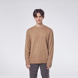 Basic round knit (Beige)