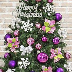 엔젤핑크 장식세트(210cm트리용)  크리스마스